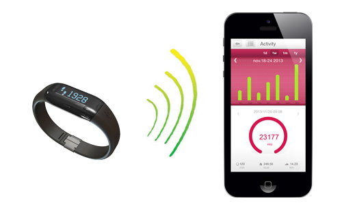 ARCHOS Activity Tracker - Simple to set-up