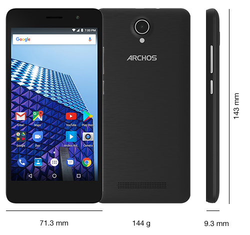 ARCHOS Access 50 Color 3G - Specs