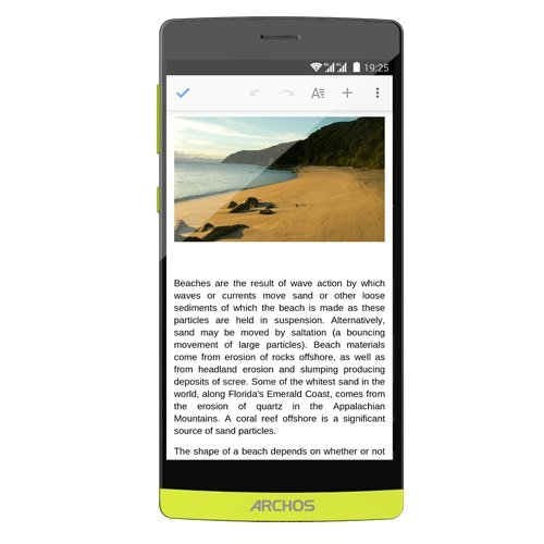 ARCHOS 50 Diamond - pc
