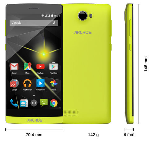 ARCHOS 50 Diamond - Specs