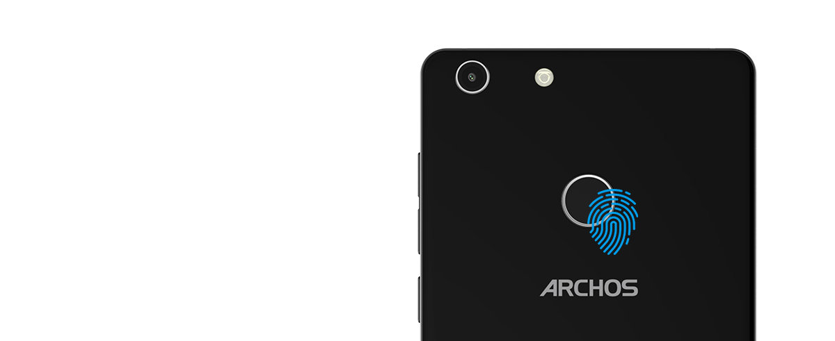 ARCHOS 55 Diamond Selfie - fingerprint