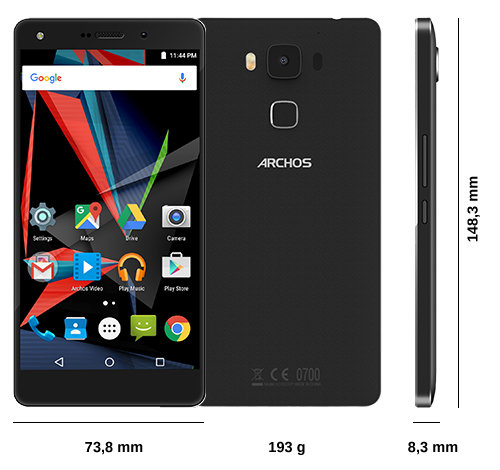 ARCHOS Diamond 2 Plus - Specs