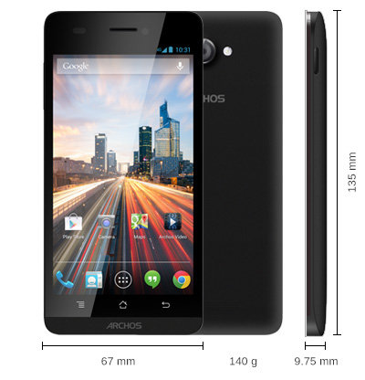 archos 45 helium 4g smartphones caract ristiques. Black Bedroom Furniture Sets. Home Design Ideas