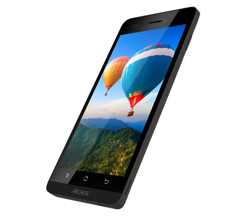 ARCHOS 50b Helium 4G - HD Screen: Perfect viewing on the Go