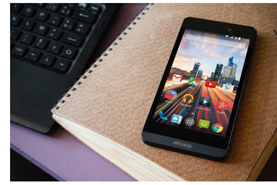 ARCHOS 50b Helium 4G - Made for the next generation of mobile internet