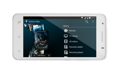 ARCHOS 50c Helium 4G - archos_media_apps