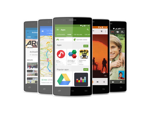 ARCHOS 50d Helium 4G - android