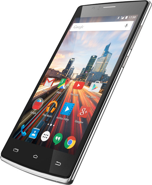 ARCHOS 50d Helium 4G - HD Screen: Perfect viewing on the Go