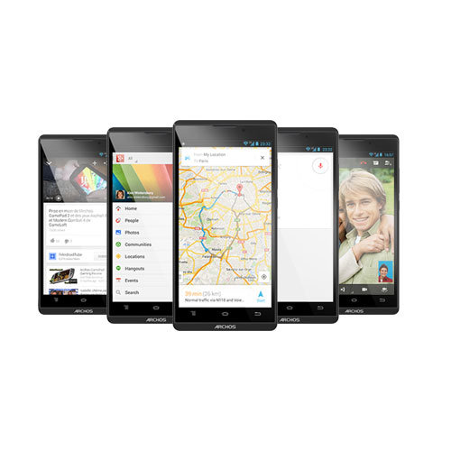 ARCHOS 50b Oxygen - Pure Android with Google Play