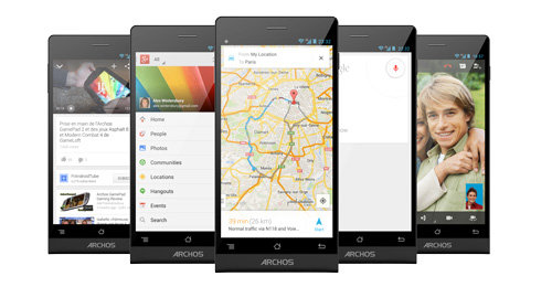 ARCHOS 50c Oxygen - Pure Android with Google Play