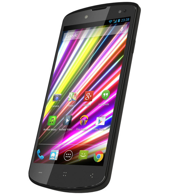 ARCHOS 50 Oxygen - Full HD Screen: Perfect viewing on the Go
