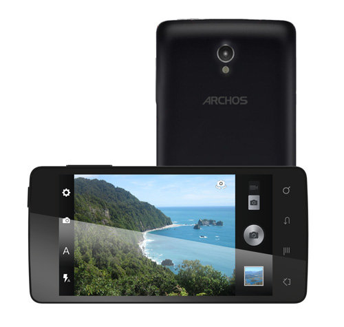 ARCHOS 45 Platinum - 5 MP camera