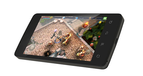 ARCHOS 45 Platinum - Powerful quad-core processor