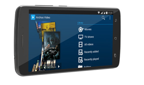 ARCHOS 52 Platinum - archos_media_apps