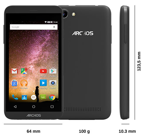 ARCHOS 40 Power - Specs