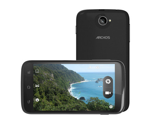 ARCHOS 40 Titanium - 5 MP camera