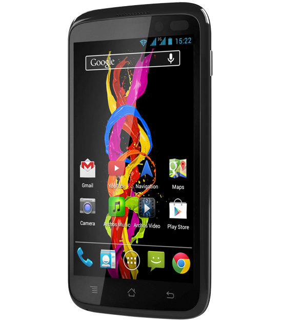ARCHOS 40 Titanium - 4 inch screen