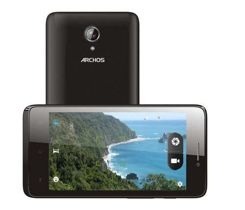 ARCHOS 45 Titanium - 5 MP camera