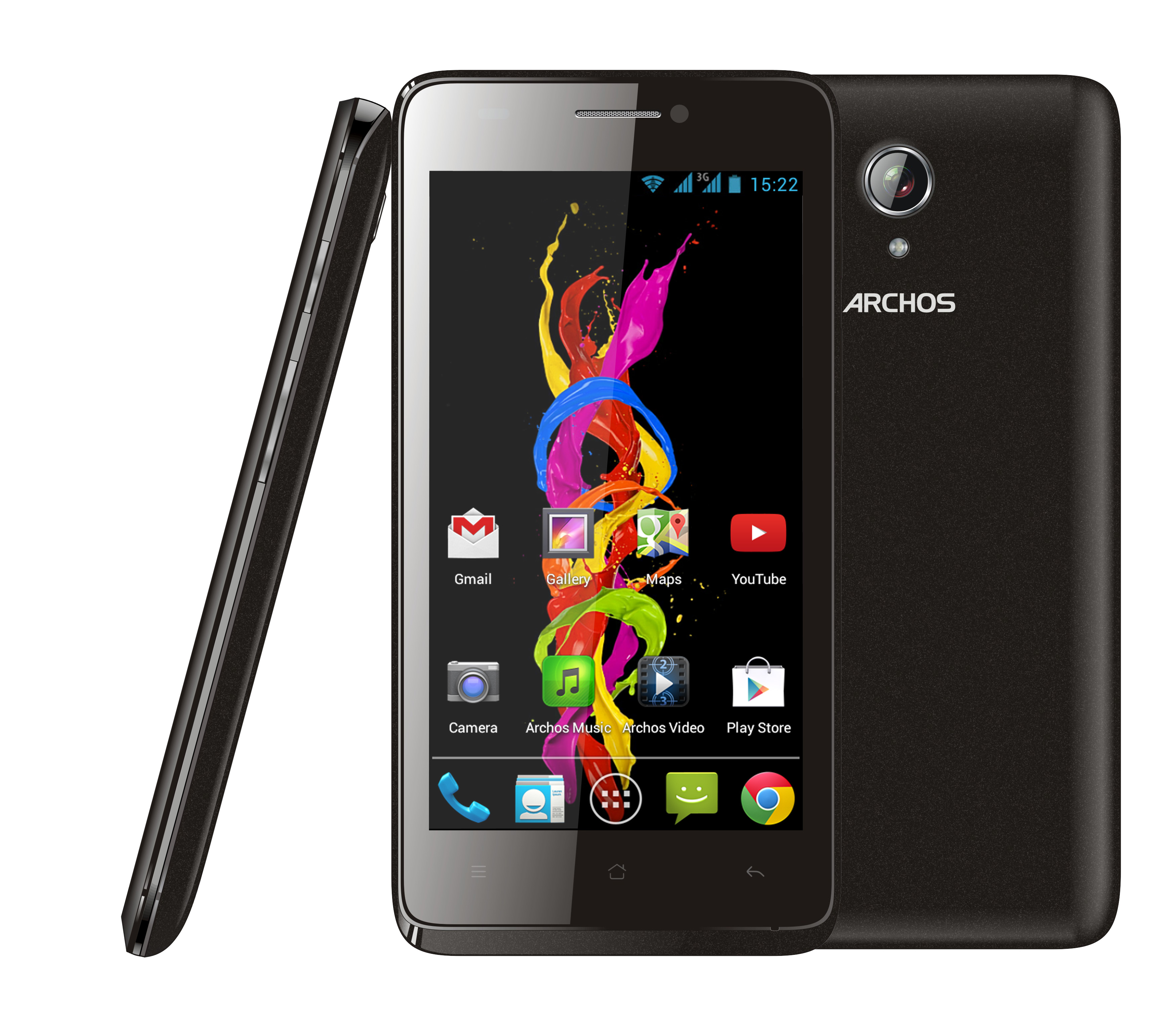 archos 45 titanium smartphones darstellung. Black Bedroom Furniture Sets. Home Design Ideas
