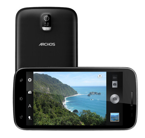 ARCHOS 50 Titanium - 5 MP camera