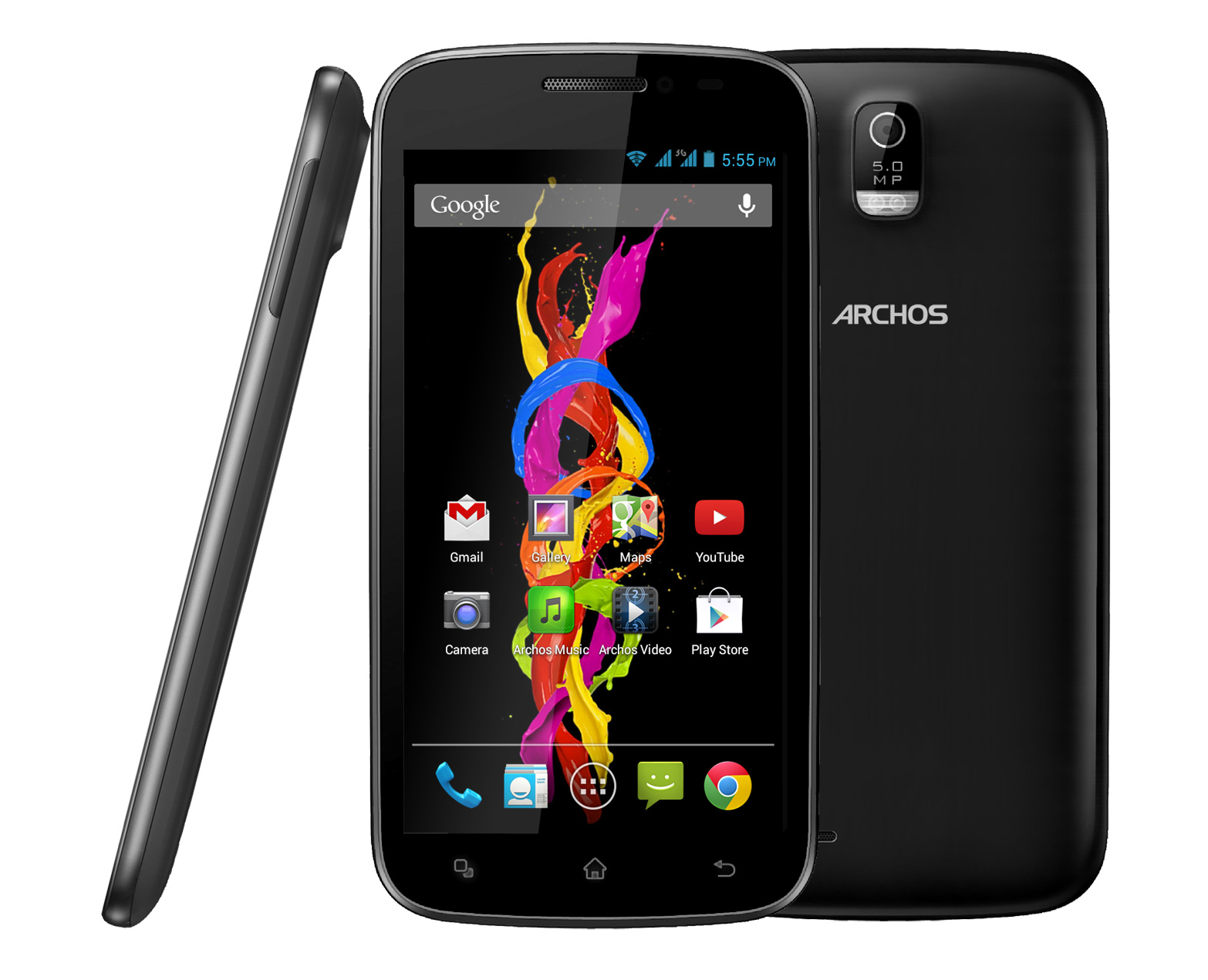 archos 50 titanium smartphones darstellung. Black Bedroom Furniture Sets. Home Design Ideas