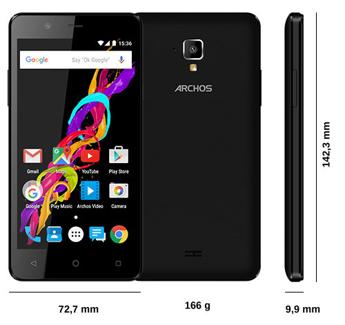 archos 50 titanium 4g smartphones tech specs. Black Bedroom Furniture Sets. Home Design Ideas