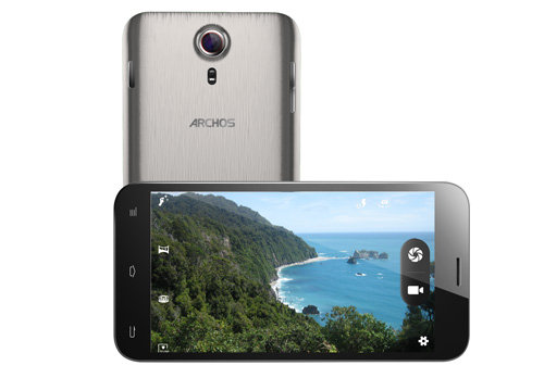 ARCHOS 64 Xenon - 8 MP camera