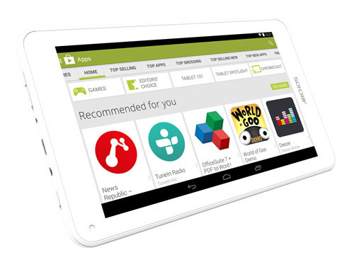ARCHOS 70c Cobalt - Runs Android 4.4 KitKat® with Google Play