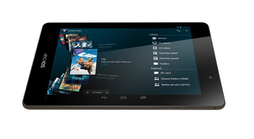 ARCHOS 79 Cobalt - ARCHOS Media apps