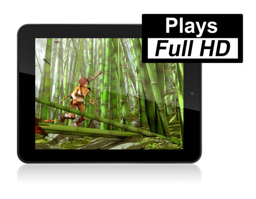 ARCHOS 80 Cobalt - Video HD player application