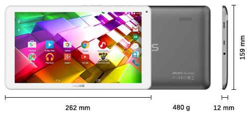 ARCHOS 101b Copper - Specs