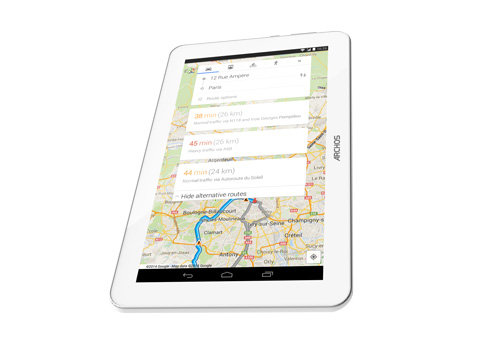 ARCHOS 90 Copper - GPS functions