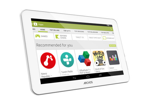 ARCHOS 90 Copper - Powerful graphics