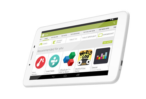 ARCHOS 70 Helium - Runs Android 4.4 KitKat® with Google Play