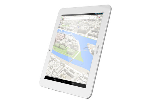 ARCHOS 80 Helium - GPS functions