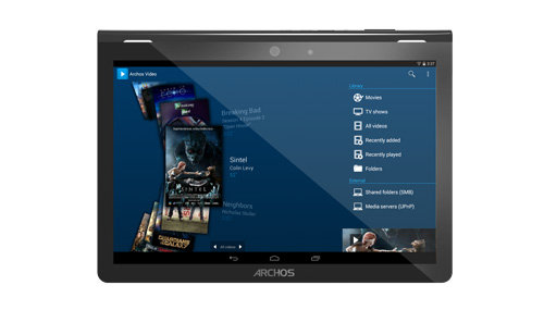 ARCHOS 101 Magnus Plus - media