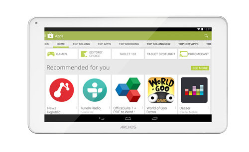 ARCHOS 101c Neon - Pure Android KitKat with Google Play