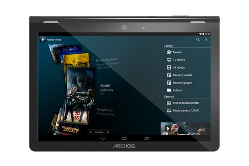 ARCHOS 101 Oxygen - A better multimedia experience