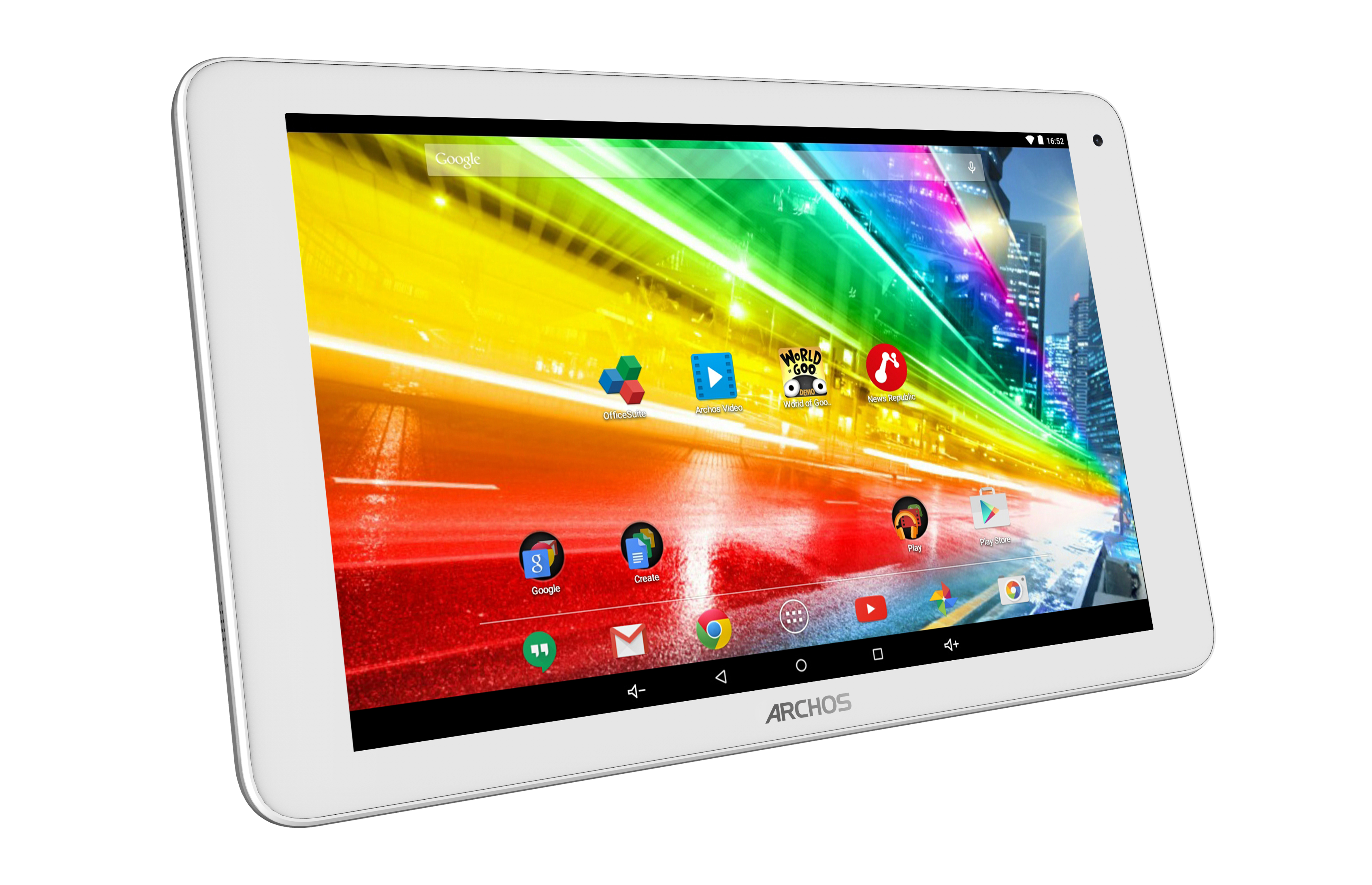 archos 101c platinum tablets tech specs