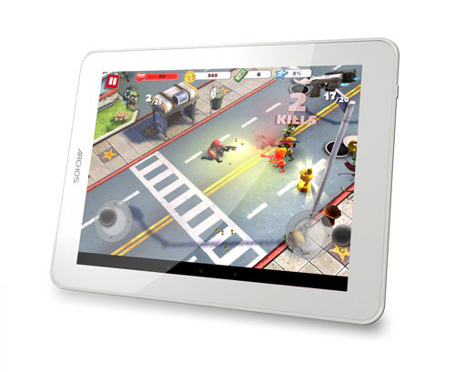 ARCHOS 80b Platinum - Powerful processor