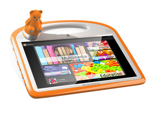 ARCHOS 101 ChildPad - Curated content for kids