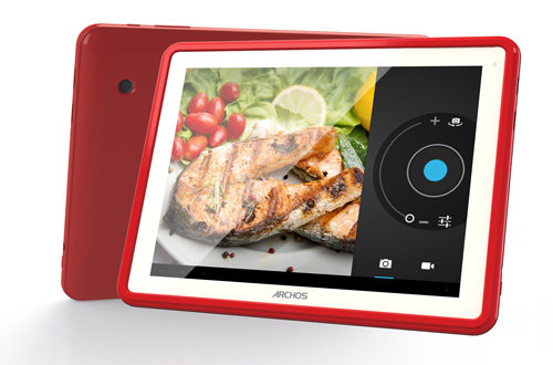 ARCHOS ChefPad - Front and back cameras