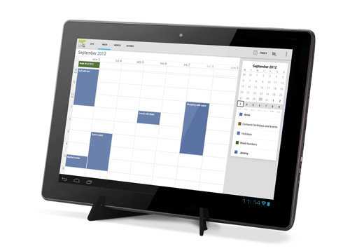 ARCHOS FamilyPad 2 - Organize as a family