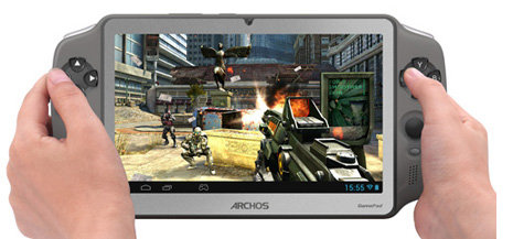ARCHOS Gamepad - Quad-core graphics