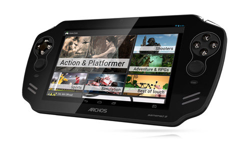 ARCHOS Gamepad 2 - The ARCHOS GameZone – play what you want
