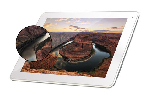 ARCHOS 97b Titanium - IPS Screen technology