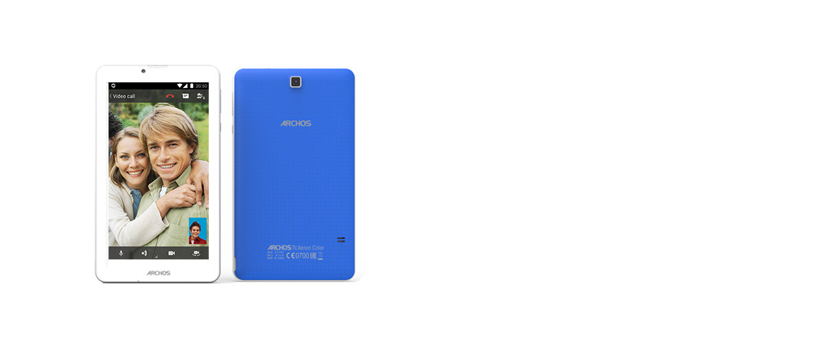 ARCHOS 70 Xenon Color - screen_cam