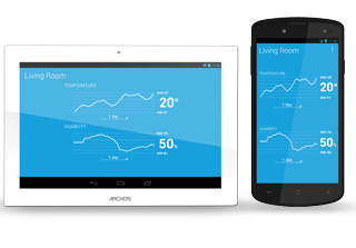 ARCHOS Smart Home - ARCHOS Weather Tag – tracking your temperature and humidity