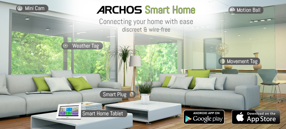 archos smart home objects overview. Black Bedroom Furniture Sets. Home Design Ideas