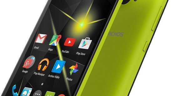ARCHOS 50 Diamond - screen